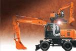 日立ZX170W-3轮式挖掘机