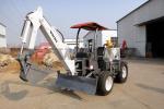 沃尔华DLS818-9A农用轮式挖掘机