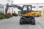 沃尔华DLS870-9M轮式液压挖掘机