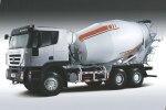 紅巖杰獅C100 430馬力 8X4 混凝土攪拌車(CQ5315GJBHXG336)(長軸)