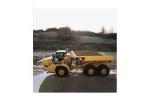 卡特彼勒740铰接式卡车