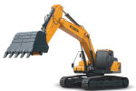 現代R350L VS履帶挖掘機