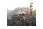 建研HGY17樓層固定式混凝土布料機