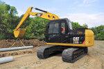 卡特彼勒313D2 GC小型挖掘機
