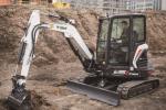 山猫E35Z小型挖掘机