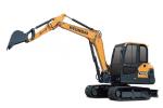 現代HX60小型履帶挖掘機