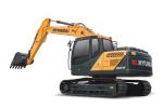 現代R150L VS履帶挖掘機
