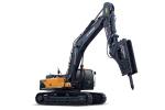 现代R495LVS履带挖掘机(破碎专用)