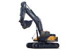 现代R505LVS履带挖掘机