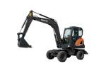斗山DX60W ECO輪式挖掘機