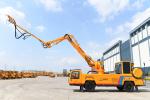 鐵建重工HPS3016S混凝土噴射臺車