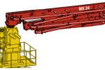 普茨迈斯特MXR 24-4固定式布料杆