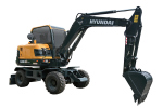 现代R60WVS PRO轮式挖掘机
