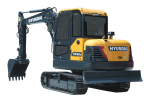 现代HX60N履带挖掘机