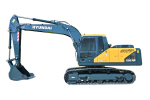 现代R205VS履带挖掘机