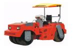 西筑ZN490B輪胎壓路機
