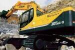 现代R305LC-9履带挖掘机