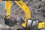 现代R215-7履带挖掘机