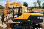 现代R110-9履带挖掘机