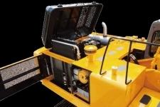 加藤HD1638R履带挖掘机局部细节10602
