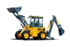 徐工WZ30-25 挖掘装载机整机视图全部图片
