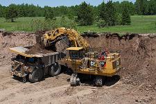 卡特彼勒6040/6040 FS礦用液壓挖掘機 整機視圖12276