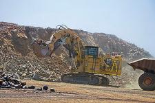 卡特彼勒6060/6060 FS礦用液壓挖掘機 整機視圖12295