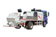方圓FYG5160THB100混凝土車載泵