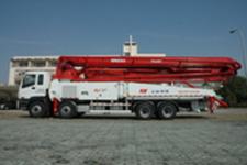 華建SPL170-5RZ53臂架式輸送泵車整機視圖18003