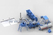 QLBY-30移动式沥青搅拌设备