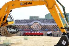 厦工XG822EL履带挖掘机局部细节全部图片