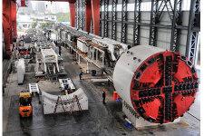 徐工φ6.45米復合式土壓平衡盾構機