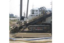 徐工XZ180水平定向钻施工现场全部图片