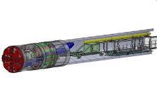 鐵建重工小直徑土壓平衡盾構機