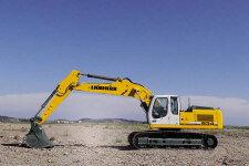利勃海尔R 934 C Litronic履带挖掘机施工现场全部图片