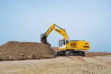 利勃海尔R 944 C Litronic履带挖掘机施工现场全部图片