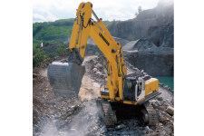 利勃海尔R 964 C Litronic履带挖掘机施工现场全部图片