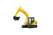 厦工XG815EL履带挖掘机整机视图全部图片