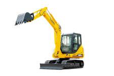 厦工XG806履带挖掘机整机视图全部图片