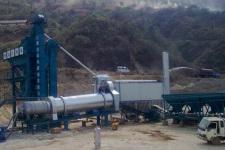 亚龙LB1200沥青混凝土搅拌设备整机视图2798