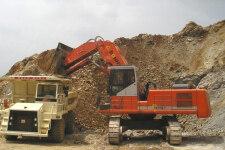 邦立重机CE750-8履带挖掘机施工现场全部图片