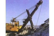 太原重工WK-8履带挖掘机施工现场28396