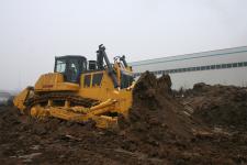 山推SD52-5標準型推土機施工現場29565