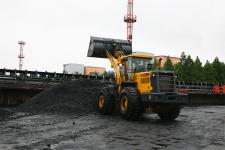 山推SL60W-2輪式裝載機施工現場29821