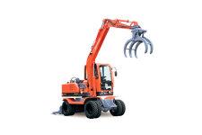 新源XY75W-8轮式挖掘机
