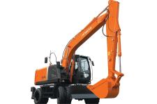 日立ZX140W-3轮式挖掘机整机视图30205