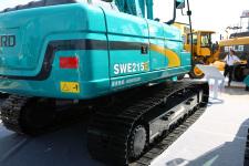 山河智能SWE215E履带挖掘机局部细节全部图片