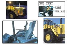 小松WA600-6轮式装载机局部细节全部图片