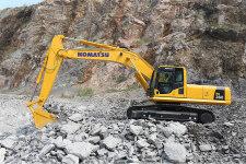 小松PC360-8M0履带挖掘机施工现场31687