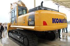 小松PC360-8M0履带挖掘机